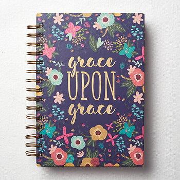 Anteckningsbok - Grace upon grace