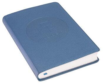 nuBibeln slimline - skimrande blå, konstskinn