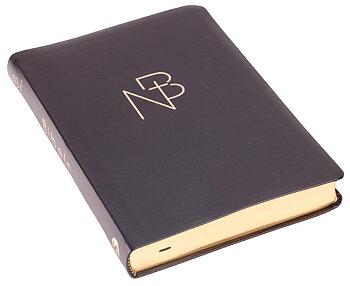 nuBibeln slimline - svart, cabra