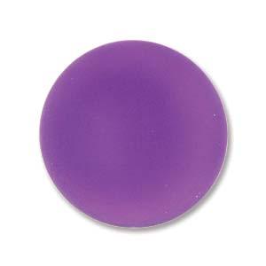 Lunasoft rund cab i färgen grape, 18 mm.