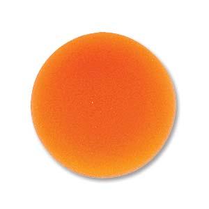 Lunasoft rund cab i färgen mango, 18 mm.