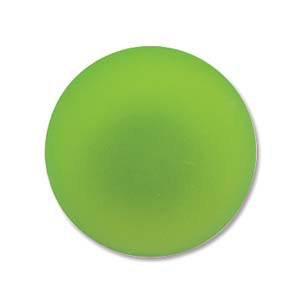 Lunasoft rund cab i färgen lime, 18 mm.