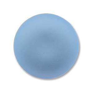 Lunasoft rund cab i färgen skyblue, 18 mm.