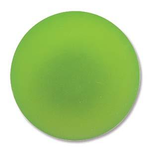 Lunasoft rund cab i färgen lime, 24 mm.
