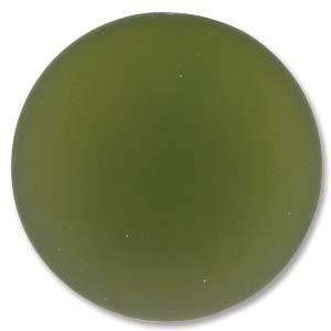 Lunasoft rund cab i färgen olive, 24 mm.