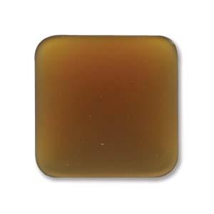 Lunasoft fyrkantig cab i färgen copper, 17 mm.