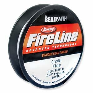 Fireline 0,15 mm tjock (6 lb) Crystal. Stor rulle med 110 meter.