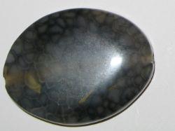 Vacker oval agat, 40*30 mm.