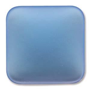 Lunasoft fyrkantig cab i skyblue, 22 mm.