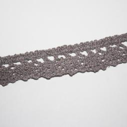 Mullvadsgrå spets, 9 mm. Per meter.