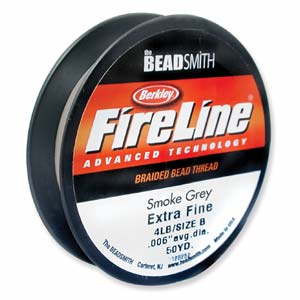 Fireline 0,12 mm tjock (4 lb) smoke