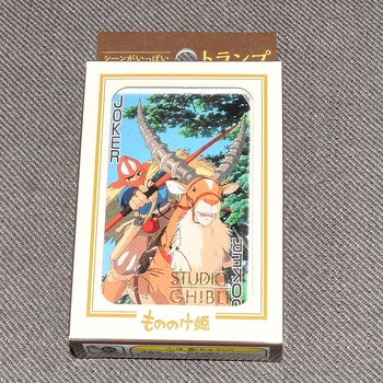 Spelkort Studio Ghibli Prinsessan Mononoke