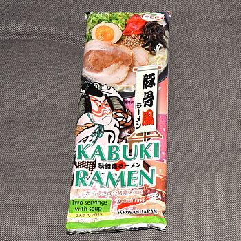 Kabuki Ramen Tonkotsu-smak, 2 portion