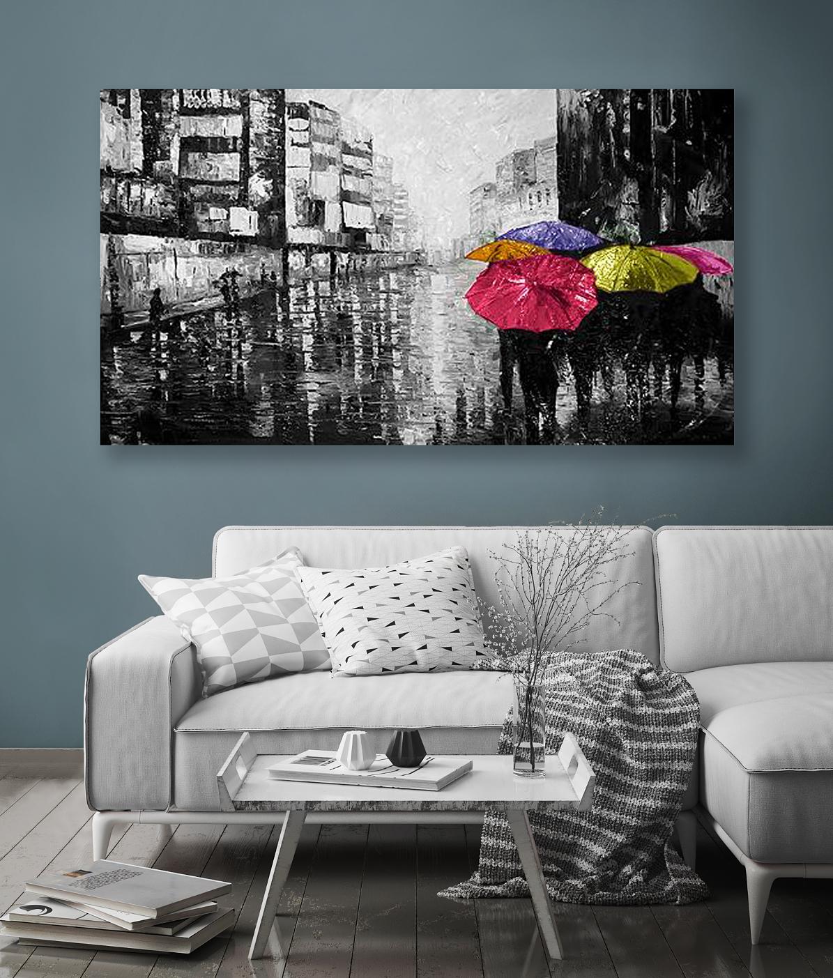 Tavlor Med Paraplyer Tavlor & Målningar Till Rätt Pris