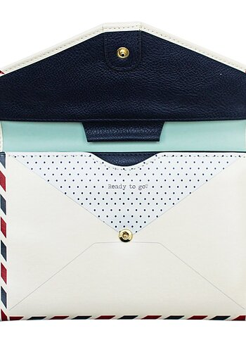 Travel Wallet Envelope, Paper Plane