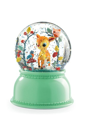 Nightlight/Snowglobe Deer Fawn