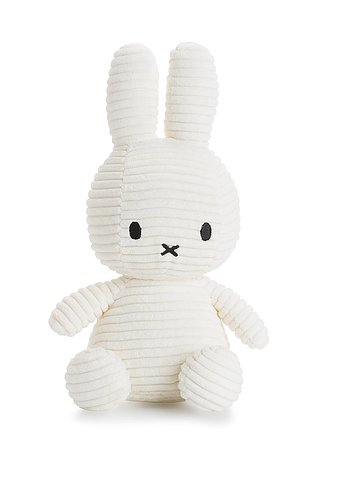 Miffy, gosedjur i manchester 23 cm, Vit