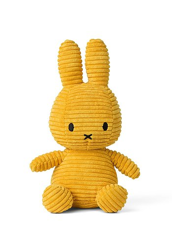 Miffy Courduroy 23cm, Yellow
