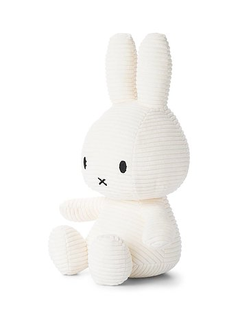 Miffy, gosedjur i manchester 33 cm, Vit