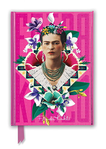 Frida Kahlo Pink Journal