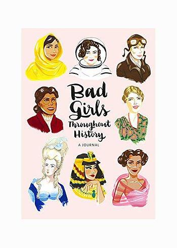 "Anteckningsbok, ""Bad Girls Throughout History"""