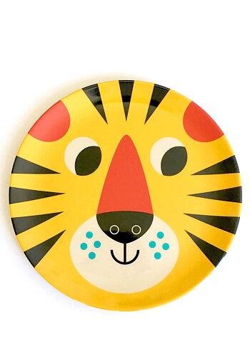 """Plate Ingela P Arrhenius """"Tiger face"""""""
