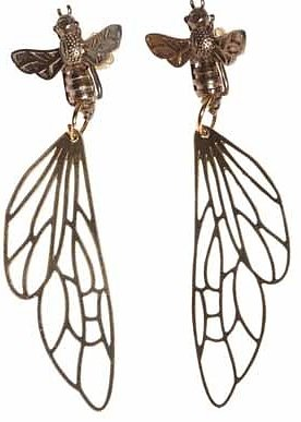 Earrings by Pendulum - Flying Bee