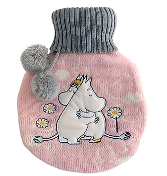 Moomin hot water bottle, Love
