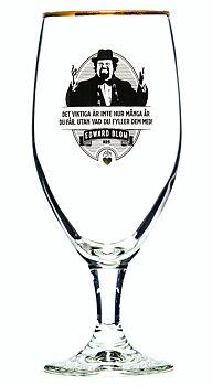 Edward Blom Collection Ölglas No.5 Det viktiga är