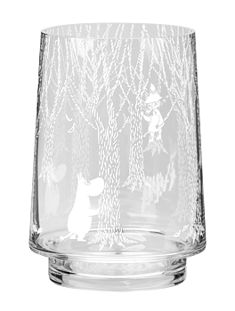 Moomin Lantern / Vase - In the woods