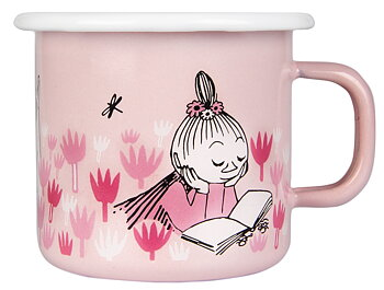 Moomin enamel mug 2,5 dl - Girls
