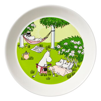 Arabia Moominplate - Season plate 2020 - Relaxing