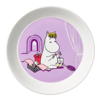 Arabia Moominplate - Snorkmaiden purple