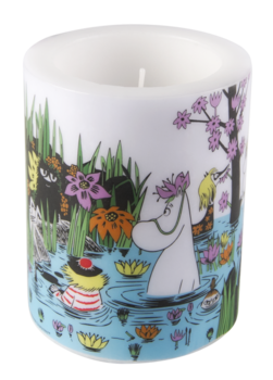 Moomin Candle, Trip to the pond