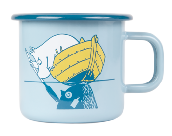 Moomin Enamel Mug, 3,7 dl - Our Sea
