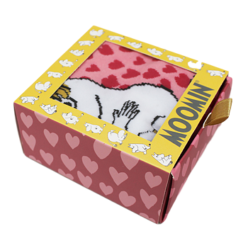 Moomin socks - Love (Gift package)