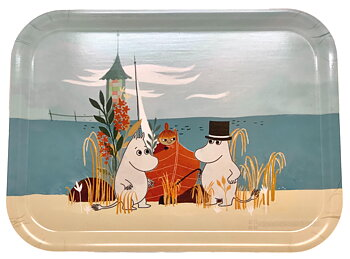 Moomin tray - Our sea