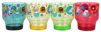 Moomin Party set - 4 mugs