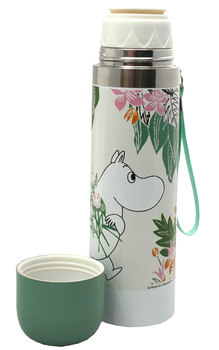 Moomin thermos flask, Floral
