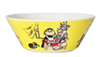 Arabia Moomin Bowl - Misabel yellow