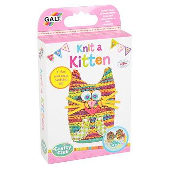Presentbox - Sticka en kattunge