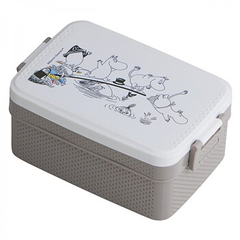 Moomin Lunch Box - Grey