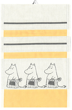 Moomin kitchen towel, Moominmamma