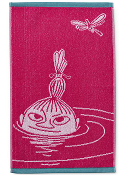 Moomin Terry towel, Little My Pink - 30x50 cm