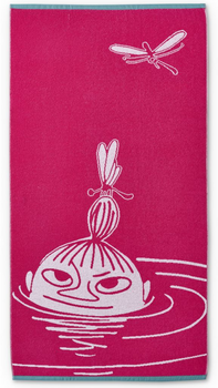 Moomin Bath towel, Little My Pink - 70x140 cm