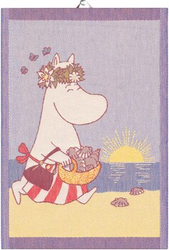 Moomin kitchen towel - Summerday