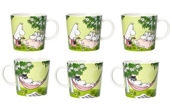Arabia Moominmugs - Relaxed 2020 - Package price - 6-pack