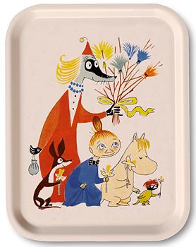 Muminbricka - Moomin Easter - White