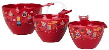 Moomin Measuring Bowls 3 pcs - Little My baking