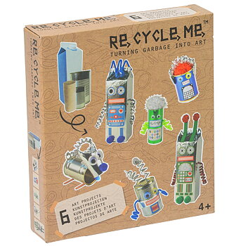 Presentbox - Re cycle me - Robots World